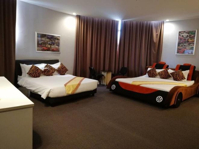 Paragon City Hotel - Ipoh - Bedroom
