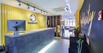 Hipstercity Hostel - Singapur - Recepción