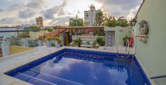 卡薩菲酒店 - 喀他基那 - 卡塔赫納 - 游泳池