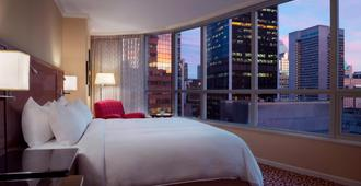 Vancouver Marriott Pinnacle Downtown Hotel - Vancouver - Schlafzimmer