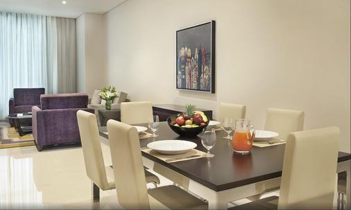 達瑪克大廈庭院花園公寓式酒店 - 杜拜 - 杜拜 - 餐廳