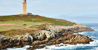 Hotel Santa Catalina by Bossh Hotels - A Coruña - Outdoor view