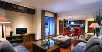 The Sultan Hotel & Residence Jakarta - Yakarta - Sala de estar