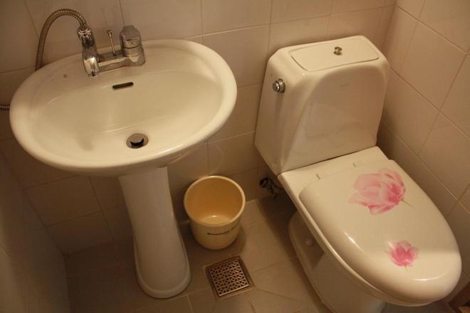 花團錦簇樓公寓 - 首爾 - 浴室