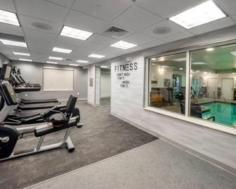 Fairfield Inn and Suites by Marriott Hazleton - Hazleton - Fitnessbereich