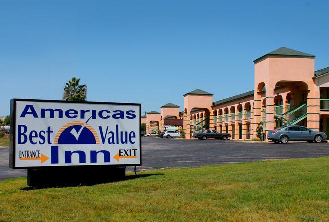 Americas Best Value Inn At&t Center - Σαν Αντόνιο - Κτίριο