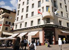 Art Boutique Hotel Monopol - St. Moritz - Bygning
