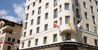 Art Boutique Hotel Monopol - St. Moritz - Building