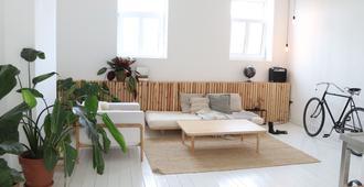 Boho City Loft - Antuérpia - Sala de estar