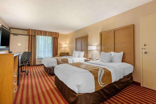 4 號出口品質酒店 - 克拉克斯維爾 - 克拉克斯維爾 - 臥室