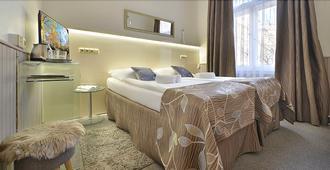 Hotel Anette - פראג - חדר שינה