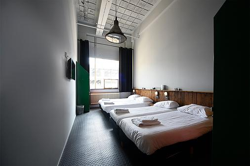 Blue Collar Hotel - Hostel - Eindhoven - Phòng ngủ