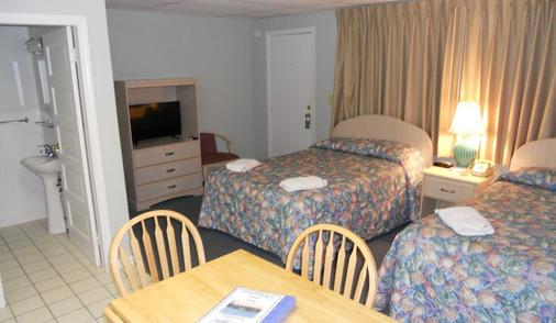 Beau Rivage Motel - Old Orchard Beach - Schlafzimmer