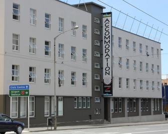 Lodge in the City - Hostel - Wellington - Building