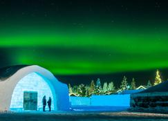 Icehotel - Юккасъярви - Вид снаружи