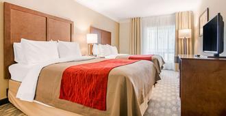 Comfort Inn Fallsview - ניאגרה פולס - חדר שינה