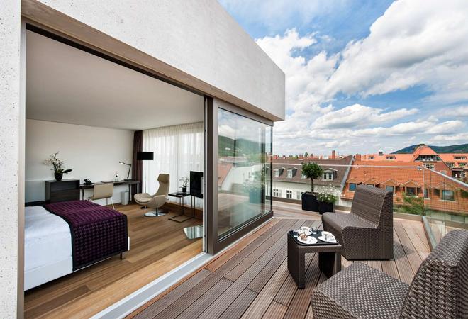 Bergheim 41 Hotel im Alten Hallenbad - Heidelberg - Balcony