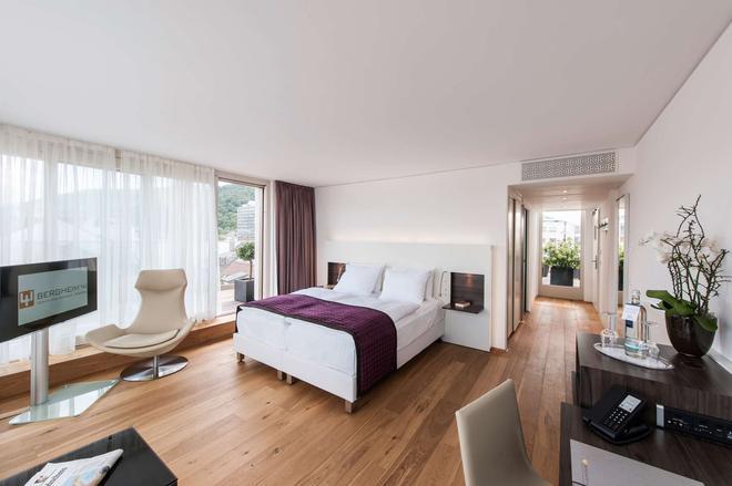 Bergheim 41 Hotel im Alten Hallenbad - Heidelberg - Bedroom