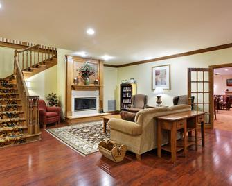 Country Inn & Suites by Radisson, Decatur, IL - Decatur - Living room