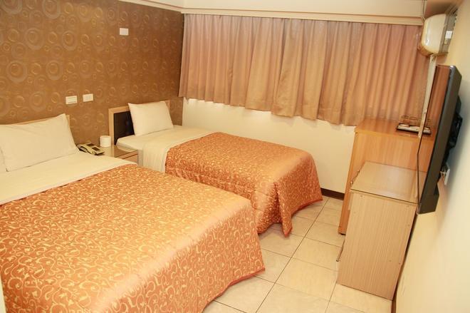 Ti Hwa Hotel - Taipei - Schlafzimmer