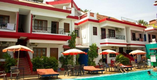 Hotel Germany Goa - Calangute - Patio
