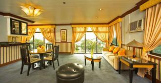 Miramar Hotel - Manila - Wohnzimmer
