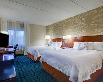 Fairfield Inn by Marriott Burlington Williston - Williston - Schlafzimmer