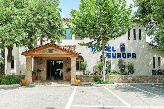 Europa Hotel - Olympia - Rakennus