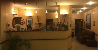 Hôtel Vesuvio - Lourdes - Front desk