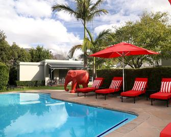 Avondrood Guest House - Franschhoek - Pool