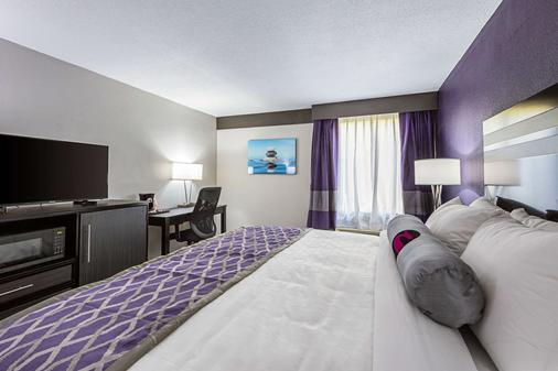 Clarion Inn and Suites near Downtown - Knoxville - Slaapkamer