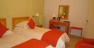 Atlantis Hotel - Thera - Bedroom