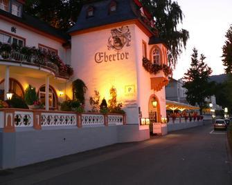 Das Ebertor Hotel & Hostel - Boppard - Gebouw