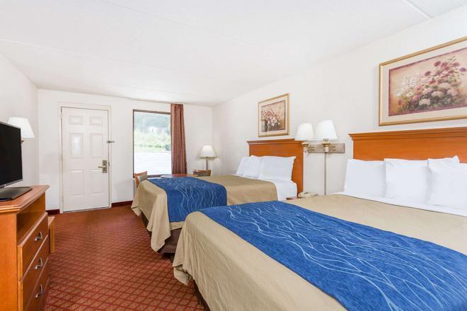 溫斯頓賽勒姆北戴斯酒店 - 溫斯頓 – 賽勒 - 溫斯頓塞倫 - 臥室