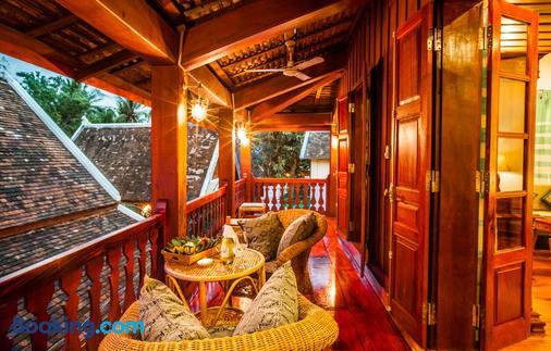 Mekong Riverview Hotel - Luang Prabang - Balkon