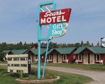 Sears Motel - East Glacier Park - Building