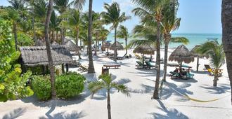 Amaité Beach Hotel - Ilha Holbox - Vista externa