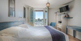 Hôtel La Marine - La Rochelle - Bedroom
