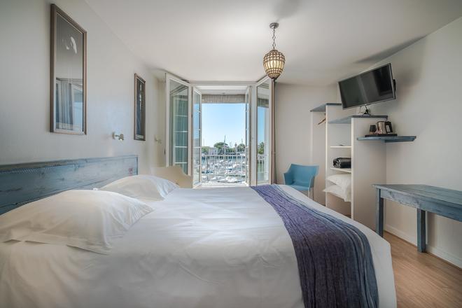 水兵酒店 - 羅歇爾 - 拉羅謝爾 - 臥室