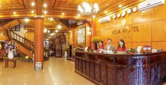 Asia Hotel - Hanoi - Front desk