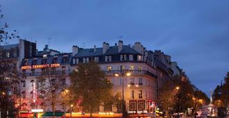 Hôtel Terminus Lyon - Paris - Bygning