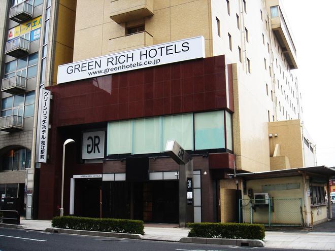 Green Rich Hotel Matsue Ekimae - Matsue - Rakennus