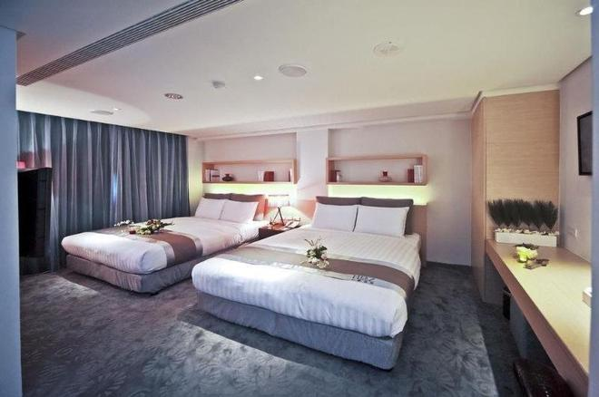 Herz Hotel - Taichung - Bedroom