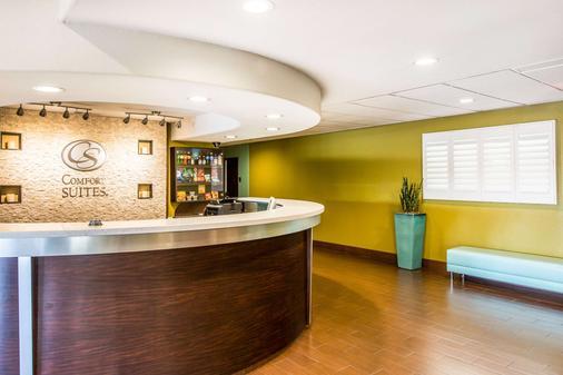 Comfort Suites Fresno River Park - Fresno - Front desk