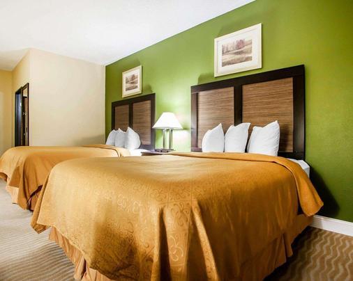 品質套房酒店 - 香檳 - 尚佩恩 - 臥室