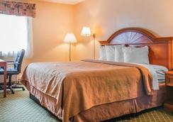 Quality Inn & Suites Detroit Metro Airport - Romulus - Bedroom