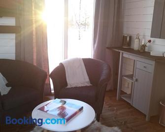 Arctic Gourmet Cabin - Kiruna - Living room