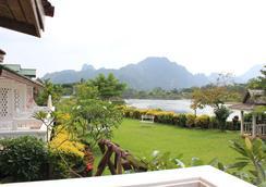 Thavonsouk Resort - Vang Vieng - Näkymät ulkona
