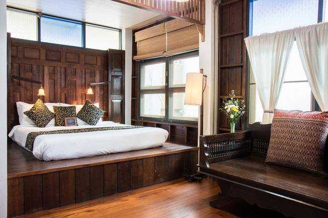 清邁公園酒店 - 清邁 - 臥室