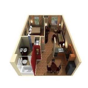 礁石酒店 - 亞基馬 - 亞基馬 - Floorplan